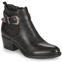 Schuhe Damen Low Boots André MADAISY Schwarz