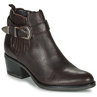Schuhe Damen Low Boots André MADAISY Braun