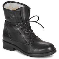 Schuhe Damen Boots André NETTY Schwarz