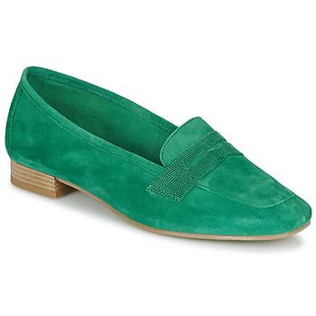 Schuhe Damen Slipper André NAMOURS Grün