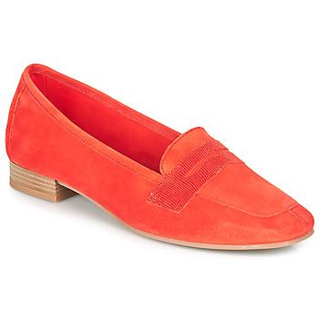 Schuhe Damen Slipper André NAMOURS Korallenrot