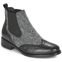 Schuhe Damen Boots André EGLANTONE Schwarz