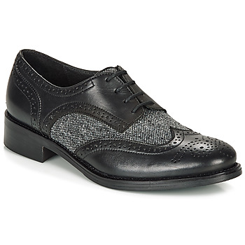 Schuhe Damen Derby-Schuhe André EGLANTINE Schwarz