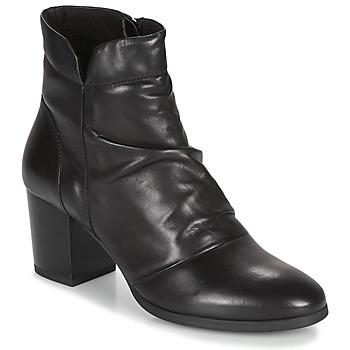 Schuhe Damen Low Boots André EBENE Schwarz