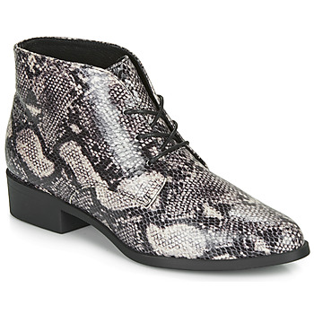 Schuhe Damen Boots André NECTARINE Grau