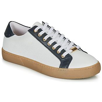 Schuhe Damen Sneaker Low André BERKELEY Weiss / Motif