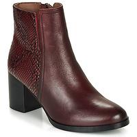Schuhe Damen Low Boots André NILA Bordeaux