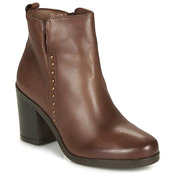 Schuhe Damen Low Boots André NOURA Braun