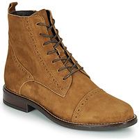 Schuhe Damen Boots André ECLUSE Camel