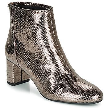 Schuhe Damen Low Boots André LEADERSHIP Bronze