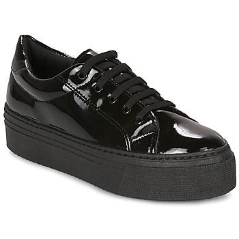 Schuhe Damen Sneaker Low André SODA Schwarz
