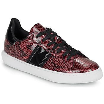 Schuhe Damen Sneaker Low André FRISBEE Bordeaux