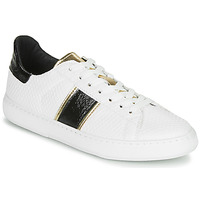 Schuhe Damen Sneaker Low André FRISBEE Weiss