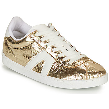 Schuhe Damen Sneaker Low André SPRINTER Goldfarben