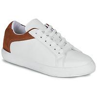 Schuhe Damen Sneaker Low André BAILA Weiss