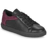 Schuhe Damen Sneaker Low André BAILA Schwarz
