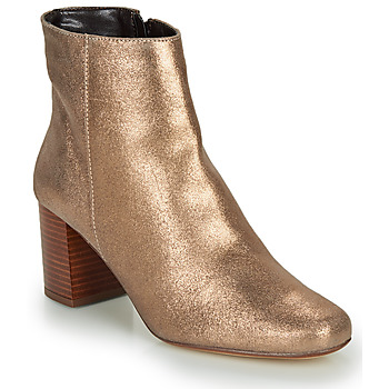 Schuhe Damen Low Boots André LAPA Goldfarben