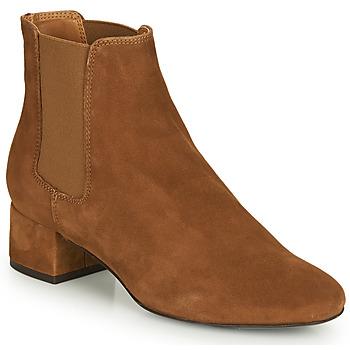 Schuhe Damen Boots André ECLAIRCIE Camel