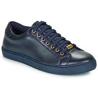 Schuhe Damen Sneaker Low André BERKELEY Blau