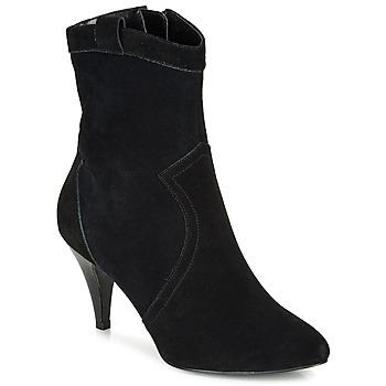 Schuhe Damen Low Boots André EIKO Schwarz