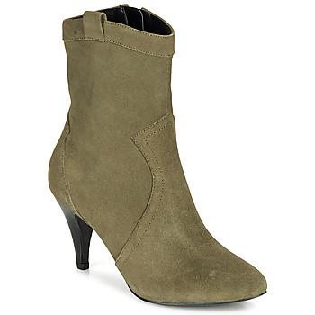 Schuhe Damen Low Boots André EIKO Grün