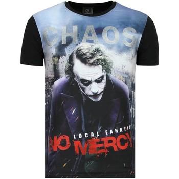 Kleidung Herren T-Shirts Local Fanatic The Joker Chaos No Mercy Z Schwarz