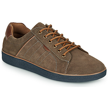 Schuhe Herren Sneaker Low André ELTON Kaki