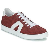 Schuhe Herren Sneaker Low André GILOT Bordeaux
