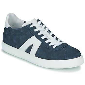 Schuhe Herren Sneaker Low André GILOT Blau