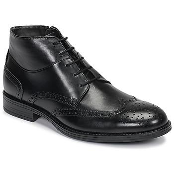 Schuhe Herren Boots André LORMAND Schwarz
