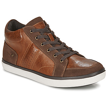 Schuhe Herren Sneaker High André MOMBASSA Braun