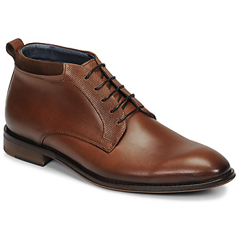 Schuhe Herren Boots André MUBU Braun