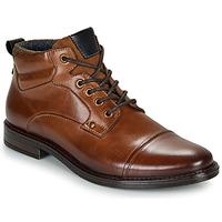 Schuhe Herren Boots André VABON Braun