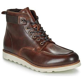 Schuhe Herren Boots André MARDON Braun