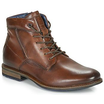 Schuhe Herren Boots André CHIROS Braun