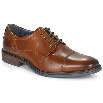Schuhe Herren Derby-Schuhe André BYRON Cognac