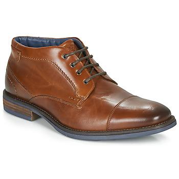 Schuhe Herren Boots André BARTHUS Cognac