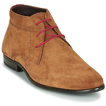Schuhe Herren Boots André VELEGANT Cognac