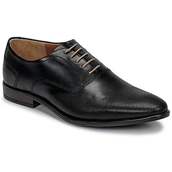 Schuhe Herren Richelieu André PERFORD Schwarz
