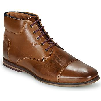 Schuhe Herren Boots André SOMMET Braun