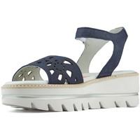 Schuhe Damen Sandalen / Sandaletten CallagHan LANGER STRAND FRISCHE SANDALEN NAVY