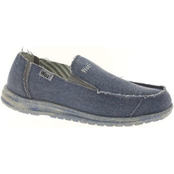 Schuhe Herren Slip on Woz FRICK-U Slip On Mann blau blau