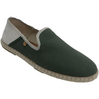 Schuhe Herren Slip on Calzamur Hanf Mann Schuhe herum  grün Beige