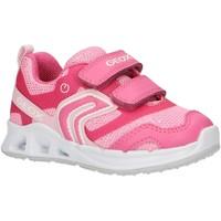 Schuhe Mädchen Multisportschuhe Geox B922VA 0EWBC B DAKIN Rosa