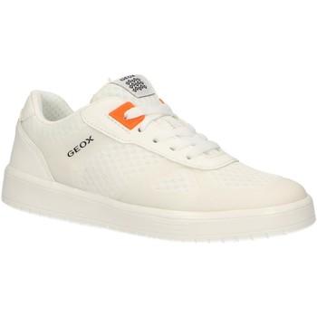 Schuhe Kinder Multisportschuhe Geox J925PB 01454 J KOMMODOR Blanco