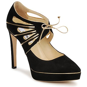 Schuhe Damen Pumps Moschino MA1004 Gold