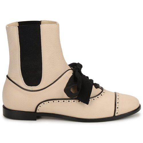 Moschino MA2103 Damen Beige  Schuhe Boots Damen MA2103 429,50 e2638d