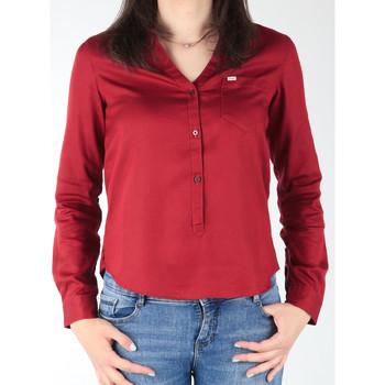 Kleidung Damen Hemden Lee Damenhemd  L47QLCPR dunkelrot