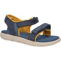 Schuhe Kinder Sandalen / Sandaletten Timberland A24J7 NUBBLE Azul