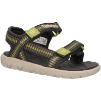 Schuhe Kinder Sandalen / Sandaletten Timberland A1PW4 PERKINS Verde